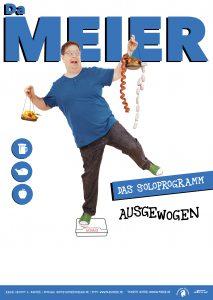 Da Meier - Plakat Soloprogramm